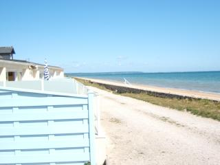 Location mer  Normandie sur plage du débarquement, Saint-Marcouf
