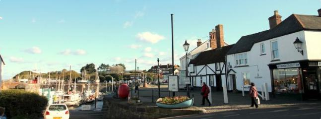 Watchet Harbour is a just a few minutes walk from the apartment