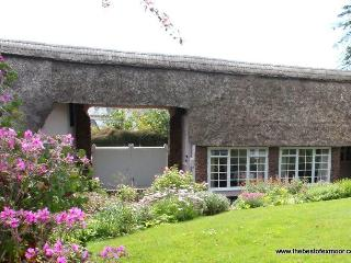 Priory Thatch Cottage, Dunster - Sleeps 2 - Exmoor National Park - Medieval vill
