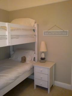 Bedroom 3 with adult size bunk bed