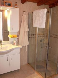 The Master Suite private bathroom - all the bathrooms are finished in similar style