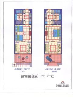 Junior Suite Layout