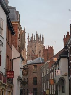You are never far from all that York has to offer at St Maurice's Court, Holiday Rental, York