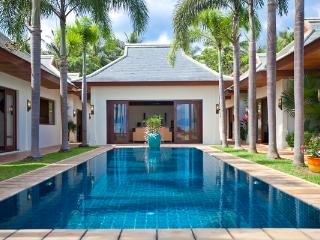 Pristine fresh water swimming pool