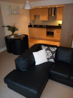 Put your feet up in front of the TV at St Maurice's Court, Holiday Rental, York