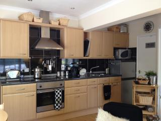 One plan fully fitted  kitchen with all you need and more inc  washing machine drying room