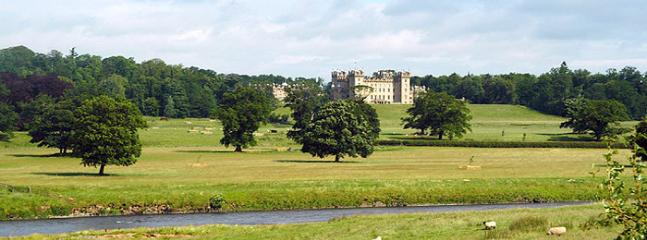 Floors Castle only a few minutes away and well worth a visit