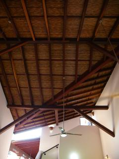 30 Feet High Traditional Cane Ceilings