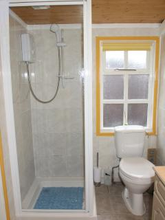 Well appointed shower room & wc. All Towels provided together with a hair dryer.