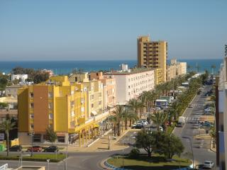 Roquetas,Penthouse,Beach/Bars/Golf, Wi-Fi, Eng TV