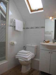 Le Pluvier Master bathroom