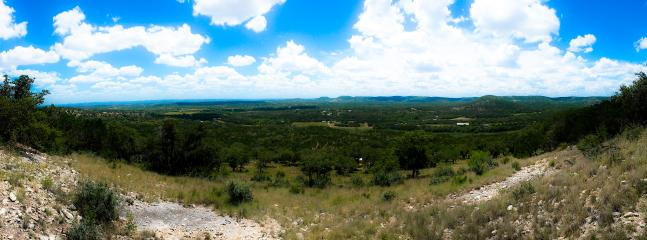 Panoramic views.  You can see for more than 10 miles.