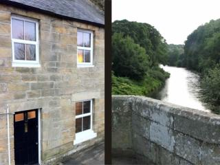 Riverside Cottage - West Thirston & a view of the River Coquet from West Thirston Bridge
