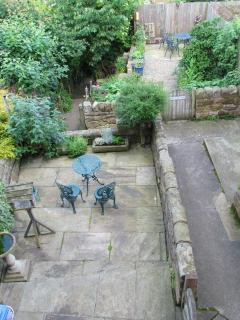 Our patio and garden
