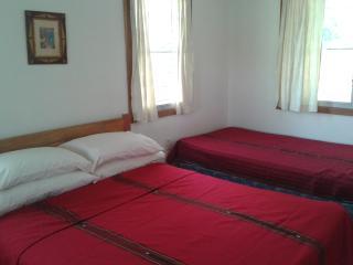 New double bed plus single divan in bedroom