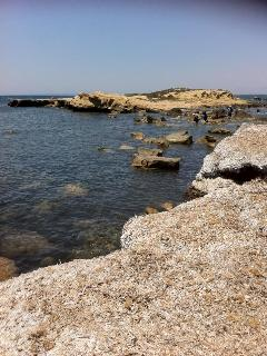 Island Tabarca,just in front of the house