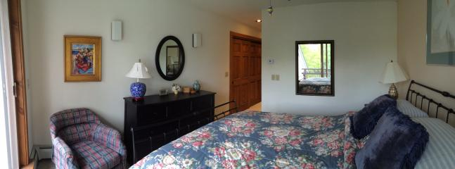 Upper  master bedroom