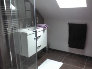 Salle d'eau, côté lavabo