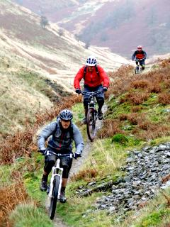Doethie Valley - just one of the many guiding options available at MudTrek Mountain Bike Breaks