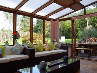 You will love the conservatory, 'chill out and relax'