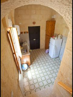 Utility room with adjacent downstairs toilet facility