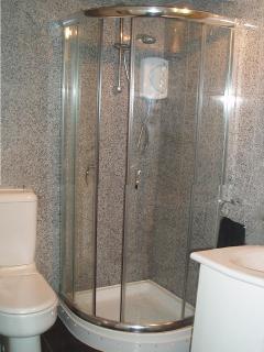 Modern shower room.