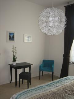 Reading corner master bedroom
