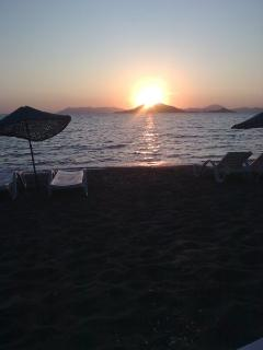Sunset at Kalkan Beach Club