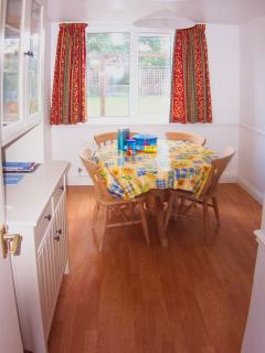 Dining Room overlooking rear garden