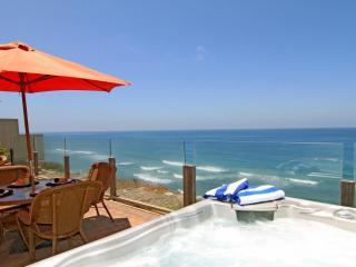 Oceanfront Single Family Home, Spa, F/P  E693-0, Encinitas