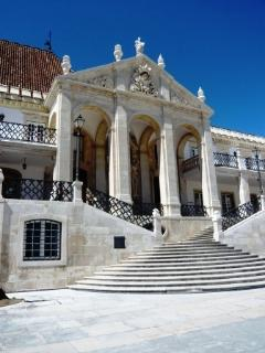 Portico of the University of Coimbra) 25 km House)