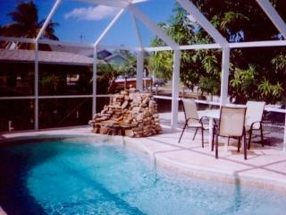 st. james waterfront home with pool and boathouse, Saint James City