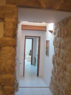 Corridor ground floor in the ramparts