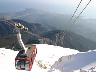 Cable cab to Mount Tahtali