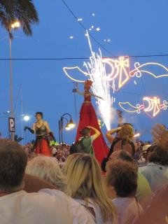 Moors and Christian Fiesta week
