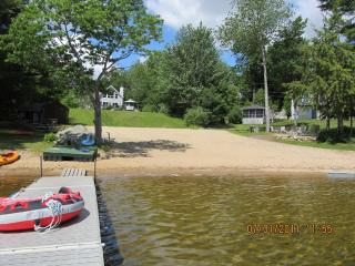 Sebago Lake 120' Pristine Association Beach