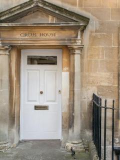 Front Door to the building