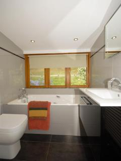 First floor family bathroom with quadrant shower