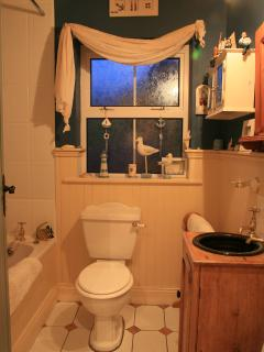 Main Bathroom, includes bath and shower