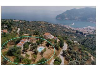 The villa from the sky