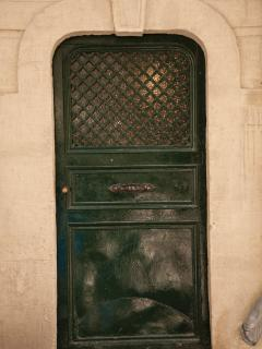 110 year old -Enrty door to Market and Cafe