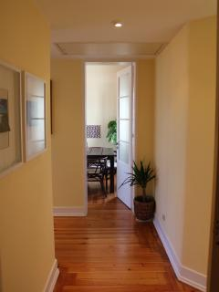 Corridor - view to dining room