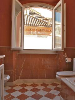 Ensuite bathroom 2. The house has five stucco and marble bathrooms