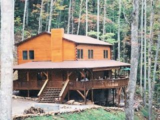 6 bedroom upscale log home, Franklin