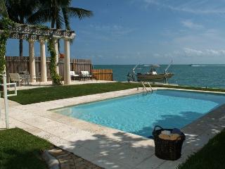 Affordable luxury villa Otro Mundo in Key Biscayne, Cayo Vizcaíno