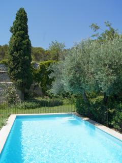 Maison d'hôtes avec piscine près d'Avignon - swimming pool