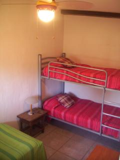 bunk bed in 3rd bedroom