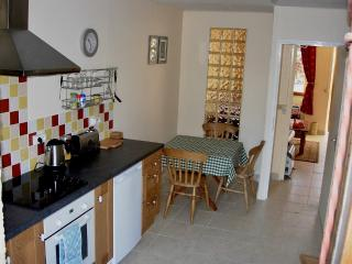 Good sized and well equipped kitchen and dining space