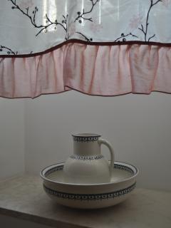 Bedroom 2- bought at antiques fair at Britanski square