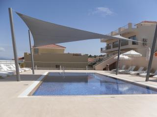 Childrens swimming pool with canopy for shade
